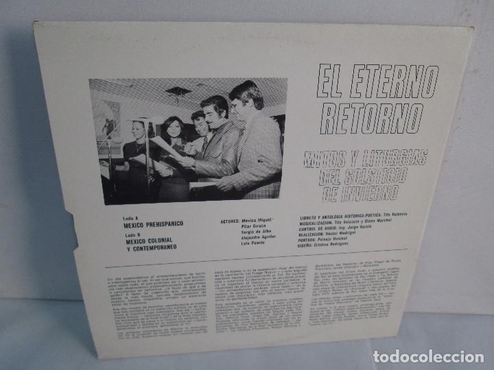 Discos de vinilo: EL ETERNO RETORNO. MITOS Y LITURGIAS DEL SOLTICIO DE INVIERNO. EP VINILO. VER FOTOGRAFIAS - Foto 8 - 104785259
