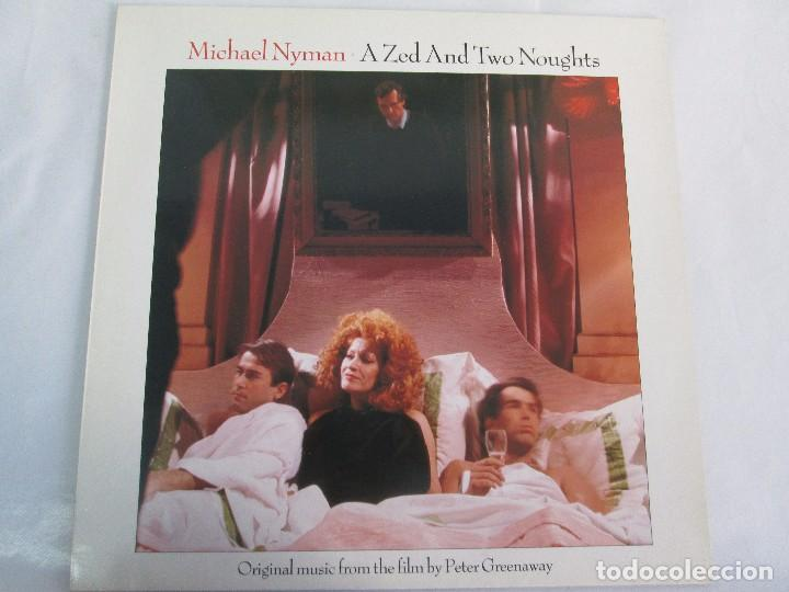 Discos de vinilo: MICHAEL NYMAN. A ZED AND TWO NOUGTS. THE COOK THE THIEF HIS WIFE HER LOVER. LP VINILO - Foto 8 - 104786443