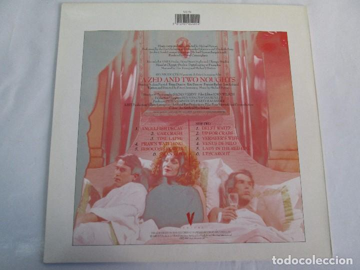Discos de vinilo: MICHAEL NYMAN. A ZED AND TWO NOUGTS. THE COOK THE THIEF HIS WIFE HER LOVER. LP VINILO - Foto 13 - 104786443