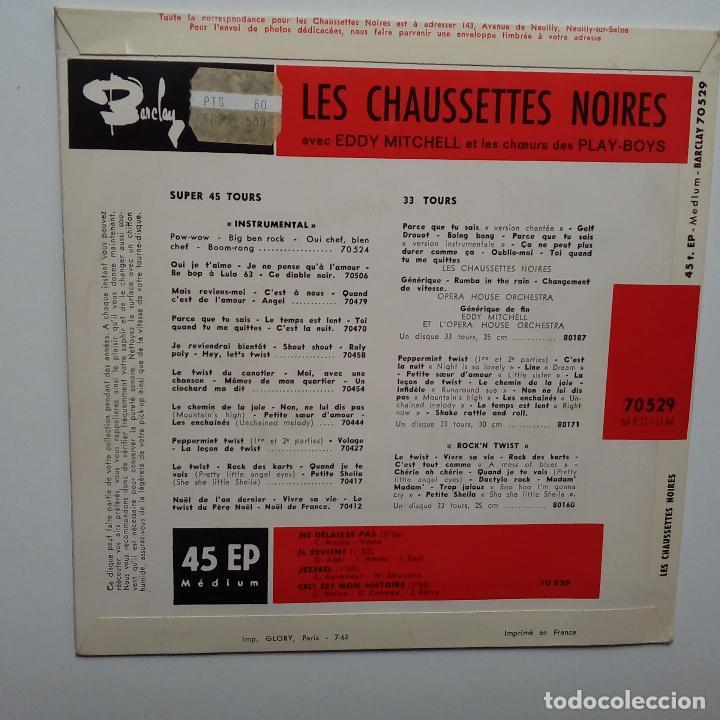 Discos de vinilo: LES CHAUSSETTES NOIRES NE DELAISSE PAS- FRENCH EP 1963 + LENGÜETA- EXC. ESTADO - Foto 2 - 104789187