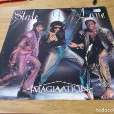 Discos de vinilo: IMAGINATION. STATE OF LOVE.. Lote 104800279