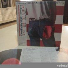 Discos de vinilo: BRUCE SPRINGSTEEN - BORN IN THE USA - LP JAPONÉS CON OBI - EXCELENTE EDICIÓN JAPONESA. Lote 104809075
