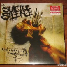 Discos de vinilo: (SIN ABRIR) SUICIDE SILENCE - THE CLEANSING (LP 180 GRAMOS + CD) (88875199251). Lote 104814395