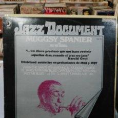 Discos de vinilo: MUGGSY SPANIER CON PEE WEE RUSSELL - JAZZ DOCUMENT - LP. DEL SELLO DISCOPHON DE 1976. Lote 104815959