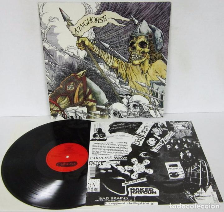 KINGHORSE - KINGHORSE - LP - CAROLINE RECORDS 1990 GERMANY CON ENCARTE - NUEVO / MINT (Música - Discos - LP Vinilo - Heavy - Metal)