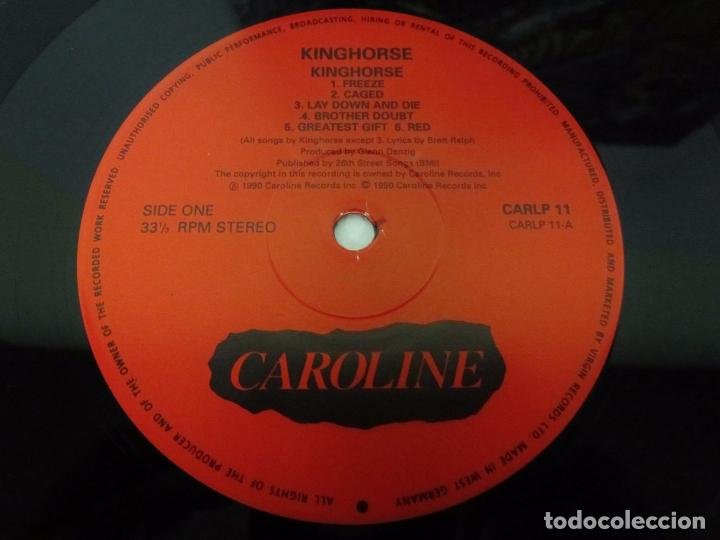 Discos de vinilo: KINGHORSE - KINGHORSE - LP - CAROLINE RECORDS 1990 GERMANY CON ENCARTE - NUEVO / MINT - Foto 2 - 104819603