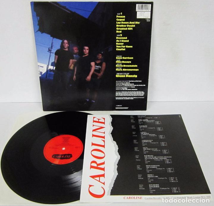 Discos de vinilo: KINGHORSE - KINGHORSE - LP - CAROLINE RECORDS 1990 GERMANY CON ENCARTE - NUEVO / MINT - Foto 3 - 104819603