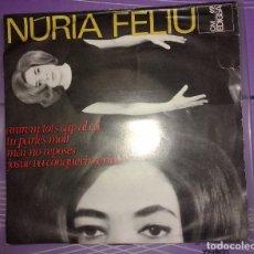 Discos de vinilo: NURIA FELIU - ANIREM TOTS CAP AL CEL. Lote 104823079