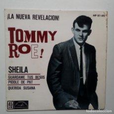 Discos de vinilo: TOMMY ROE- SHEILA- SPAIN EP 1962.. Lote 104846843