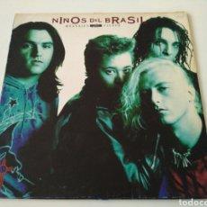 Discos de vinilo: NIÑOS DEL BRASIL - MENSAJES AL VIENTO (LP). Lote 104849335