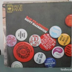 Discos de vinilo: SCOTT MACKENZIE - SAN FRANCISCO. Lote 104851559