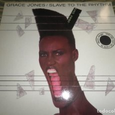 Discos de vinilo: GRACE JONES - SLAVE TO THE RHYTHM MAXI 45 - ORIGINAL HOLANDES - EMI RECORDS 1985 MUY NUEVO(5). Lote 104854771