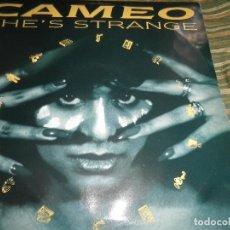 Discos de vinilo: CAMEO - SHE´S STRANGE MAXI 45 - ORIGINAL U.S.A. - CLUB RECORDS 1984 - MUY NUEVO (5).. Lote 104855247
