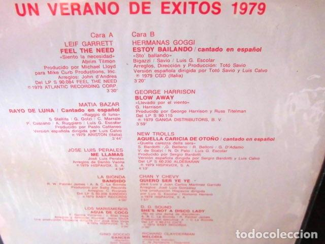 Discos de vinilo: BEATLES GEORGE HARRISON LP ESPAÑA ORIGINAL EXITOS 1979 MINT CONDITION - Foto 3 - 104859711