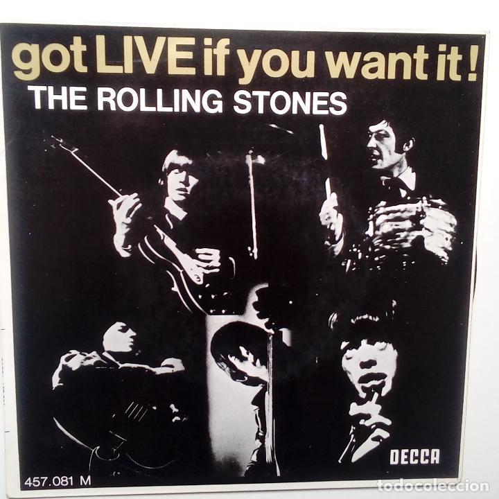 THE ROLLING STONES- GOT LIVE IF YOU WANT IT! - FRENCH EP 1965- CASI NUEVO.. (Música - Discos de Vinilo - EPs - Pop - Rock Internacional de los 50 y 60)