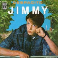 Discos de vinilo: JIMMY, SG, DESPACITO + 1, AÑO 1980. Lote 104867131