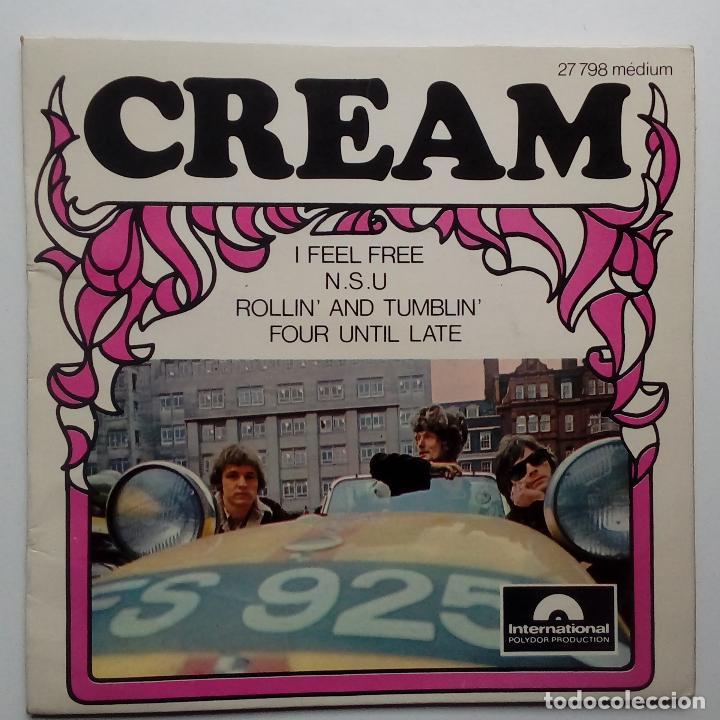 CREAM I FEEL FREE- - FRENCH EP 1966 - ERIC CLAPTON. (Música - Discos de Vinilo - EPs - Pop - Rock Internacional de los 50 y 60)