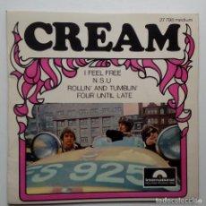 Discos de vinilo: CREAM I FEEL FREE- - FRENCH EP 1966 - ERIC CLAPTON.. Lote 104871515