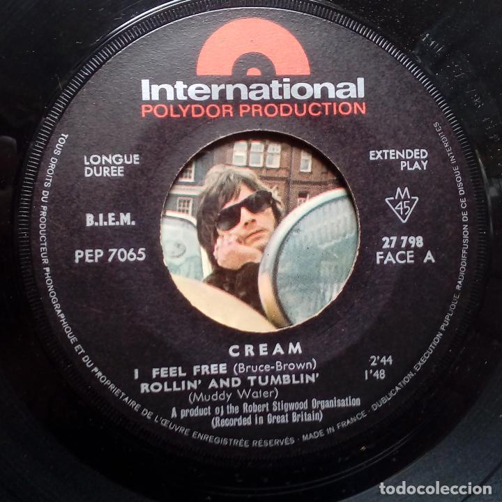 Discos de vinilo: CREAM I FEEL FREE- - FRENCH EP 1966 - ERIC CLAPTON. - Foto 3 - 104871515