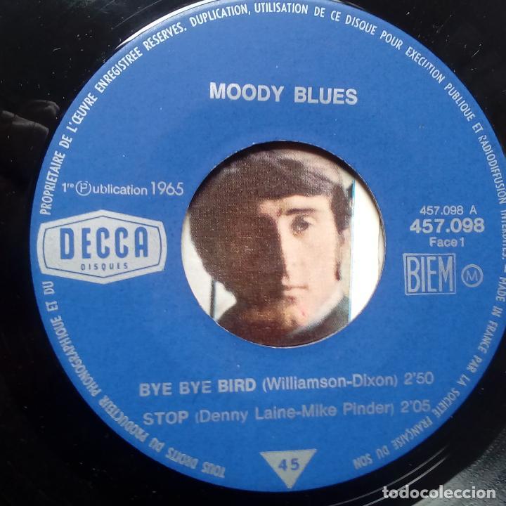 Discos de vinilo: THE MOODY BLUES - BYE BYE BIRD- FRENCH EP 1966- EN BUEN ESTADO. - Foto 3 - 104873483
