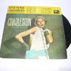 Discos de vinilo: VINILO ONESIME GROSBOIS CHARLESTON 33 RPM. Lote 104881503