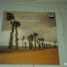 Discos de vinilo: BRAHMS - UNGARISCHE TÄNZE VOLLSTÄNDIGE AUSGABE. Lote 104894023