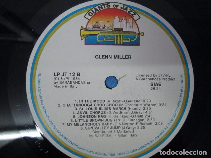 Discos de vinilo: GLENN MILLER. LOUIS ARMSTRONG AND JACK TEAGARDEN. 2 LP VINILO. GIANTS OF JAZZ. VER FOTOGRAFIAS - Foto 11 - 104907943