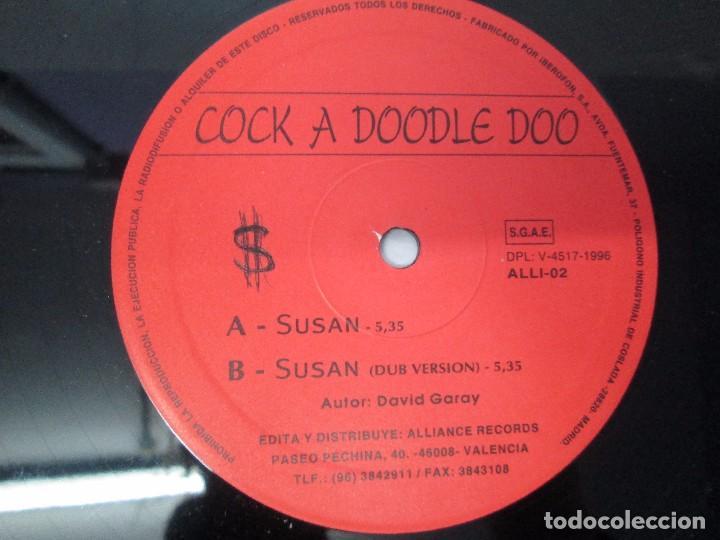 Discos de vinilo: COCK A DOODLE DOO. E.P. VINILO. ALLIANCE RECORDS 1996. VER FOTOGRAFIAS ADJUNTAS - Foto 4 - 104908303