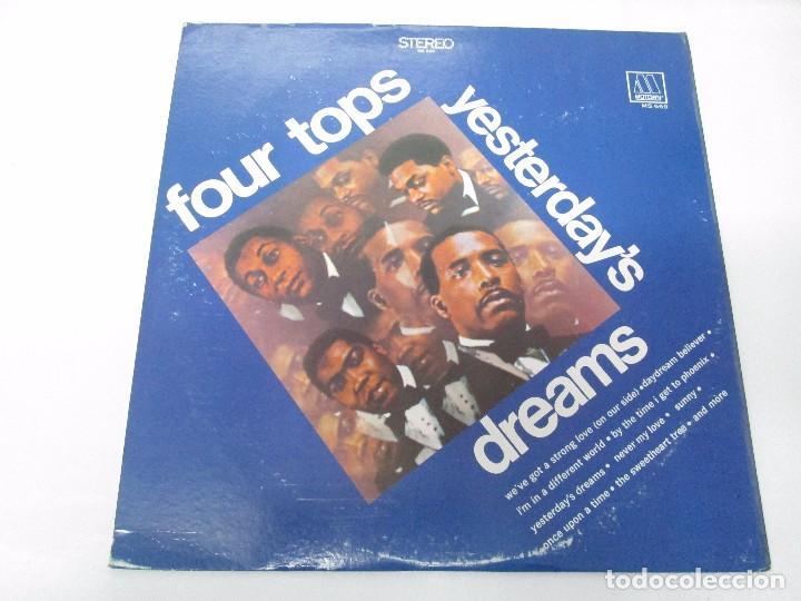Discos de vinilo: FOUR TOPS YESTERDAY´S DREAMS. LP VINILO. MOTTOWN RECORDS 1968. VER FOTOGRAFIAS - Foto 2 - 104909231