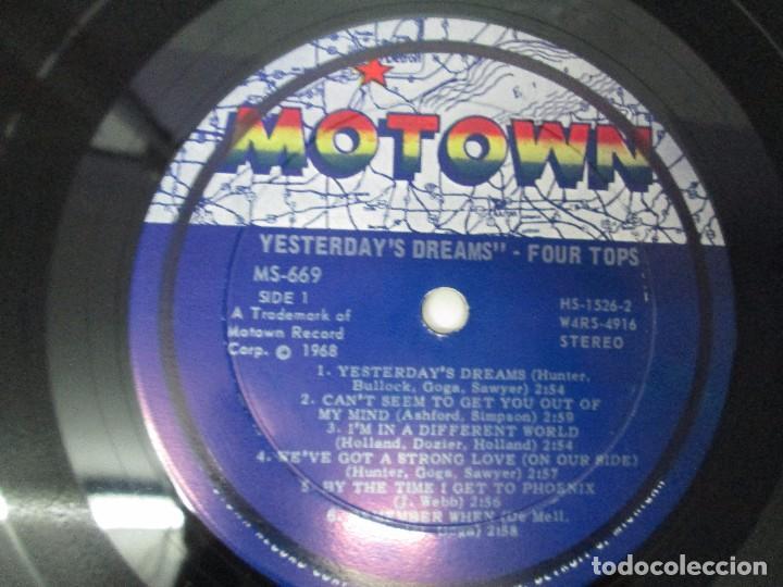 Discos de vinilo: FOUR TOPS YESTERDAY´S DREAMS. LP VINILO. MOTTOWN RECORDS 1968. VER FOTOGRAFIAS - Foto 4 - 104909231