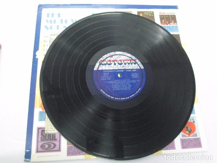 Discos de vinilo: FOUR TOPS YESTERDAY´S DREAMS. LP VINILO. MOTTOWN RECORDS 1968. VER FOTOGRAFIAS - Foto 5 - 104909231