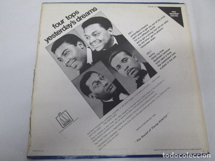 Discos de vinilo: FOUR TOPS YESTERDAY´S DREAMS. LP VINILO. MOTTOWN RECORDS 1968. VER FOTOGRAFIAS - Foto 8 - 104909231