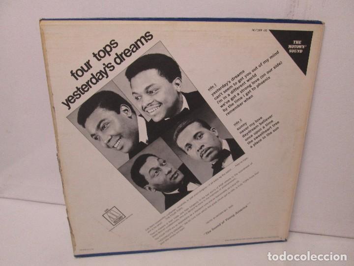 Discos de vinilo: FOUR TOPS YESTERDAY´S DREAMS. LP VINILO. MOTTOWN RECORDS 1968. VER FOTOGRAFIAS - Foto 9 - 104909231