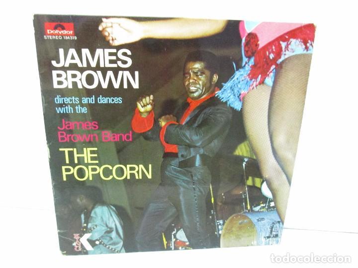 JAMES BROWN. THE POPCORN. LP VINILO. POLYDOR. VER FOTOGRAFIAS ADJUNTAS (Música - Discos - Singles Vinilo - Jazz, Jazz-Rock, Blues y R&B)