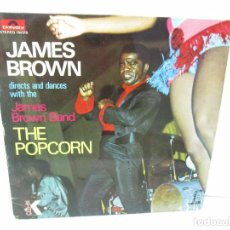 Discos de vinilo: JAMES BROWN. THE POPCORN. LP VINILO. POLYDOR. VER FOTOGRAFIAS ADJUNTAS. Lote 104909543