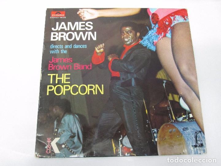 Discos de vinilo: JAMES BROWN. THE POPCORN. LP VINILO. POLYDOR. VER FOTOGRAFIAS ADJUNTAS - Foto 2 - 104909543