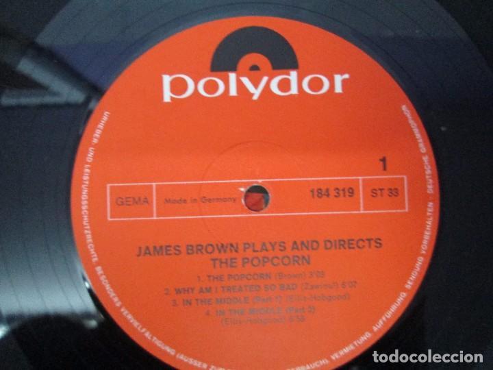 Discos de vinilo: JAMES BROWN. THE POPCORN. LP VINILO. POLYDOR. VER FOTOGRAFIAS ADJUNTAS - Foto 4 - 104909543