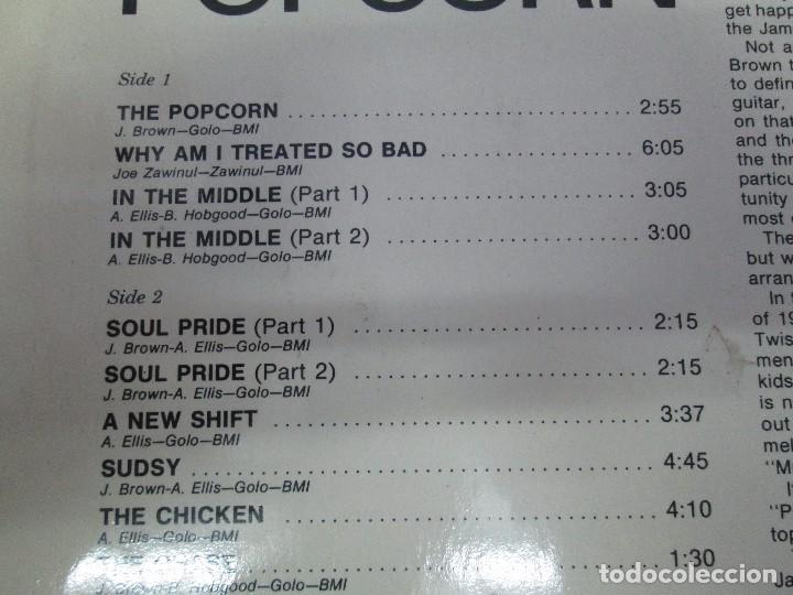Discos de vinilo: JAMES BROWN. THE POPCORN. LP VINILO. POLYDOR. VER FOTOGRAFIAS ADJUNTAS - Foto 7 - 104909543