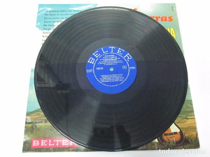 Discos de vinilo: JOTAS NAVARRAS POR FAICO Y JOSEFINA. LP VINILO. BELTER 1967. VER FOTOGRAFIAS - Foto 3 - 104911111