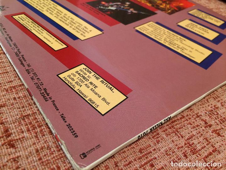 Discos de vinilo: SACRED RITE -SACRED RITE- (1985) LP DISCO VINILO - Foto 3 - 104921139