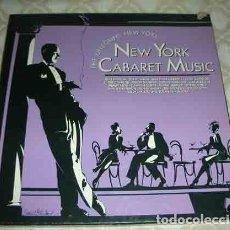 Discos de vinilo: THE ERTEGUN'S NEW YORK: NEW YORK CABARET MUSIC -CAJA 6 LPS - VARIOS. Lote 104921279