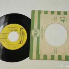 Discos de vinilo: HIMNO DE LA GUARDIA CIVIL, AÑO 1959. SINGLE. Lote 104933463