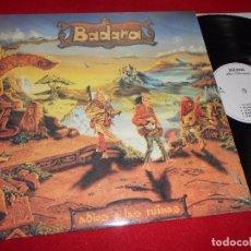 Discos de vinilo: BADANA ADIOS A LAS RUINAS LP 1995 METAL HARD ROCK NACIONAL. Lote 104939899
