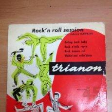 Discos de vinilo: EP JOHNNY HAWKINS ROCK'N ROLL SESSION /ROLLING BACK BABY + 3 EDITADO EN FRANCIA . Lote 104943667