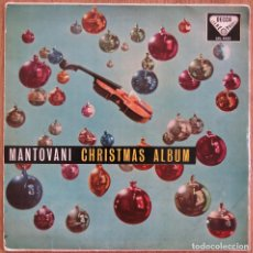 Discos de vinilo: RARE LP MANTOVANI ORQUESTA CHRISTMAS ALBUM FRANCK POURCEL RAY CONNIFF PERCY FAITH DECCA SKL 4022. Lote 104952819