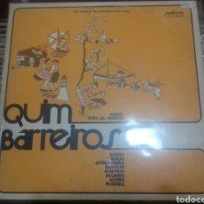 Discos de vinilo: LP QUIM BARREIROS- MINHO TRAS OS MONTES - FOLK PORTUGUÉS. Lote 104952927