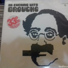 Discos de vinilo: AN EVENING WITH GROUCHO. Lote 104953363