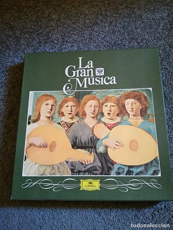 COLECCIÓN LA GRAN MÚSICA (Música - Discos de Vinilo - EPs - Clásica, Ópera, Zarzuela y Marchas)