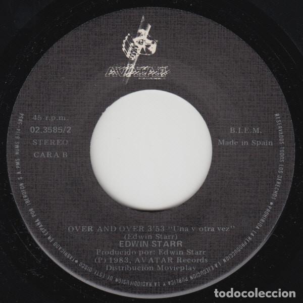 Discos de vinilo: Edwin Starr – You Hit The Nail On The Head = Golpeas El Clavo En La Cabeza - SINGLE 1983 - Foto 3 - 104956979