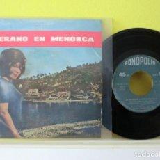 Discos de vinilo: VERANO EN MENORCA, 1963 , SINGLE 149. Lote 104957787